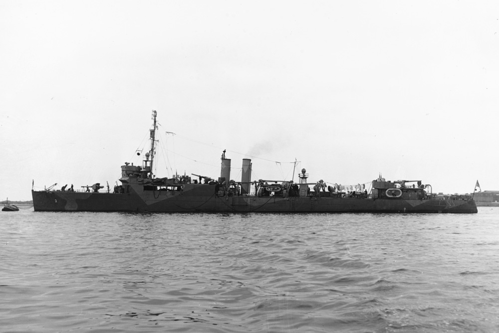 Shipwreck USS Gregory (APD-3)