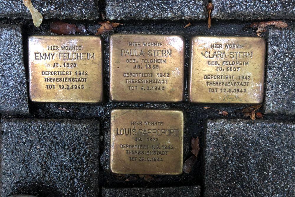 Stumbling Stones Wallufer Straße 13