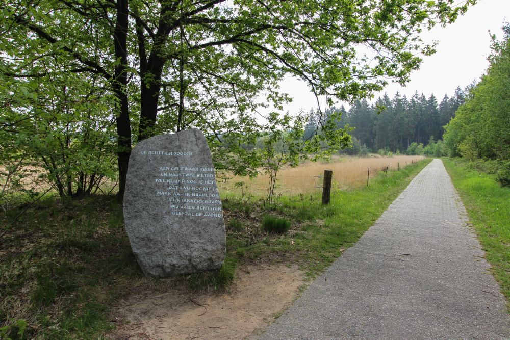 Monument The Eighteen Dead Camp Westerbork