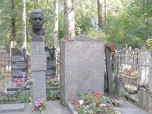Graves Russian War Veterans Bogoslovskoye Cemetery