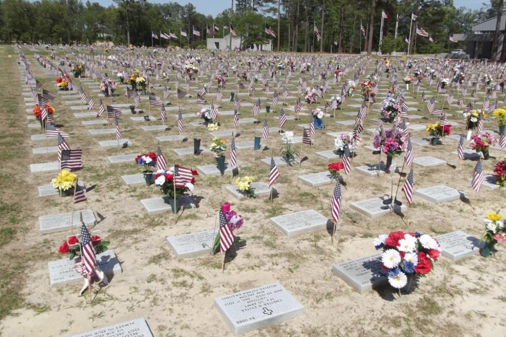 Amerikaanse Oorlogsgraven Sandhills State Veterans Cemetery