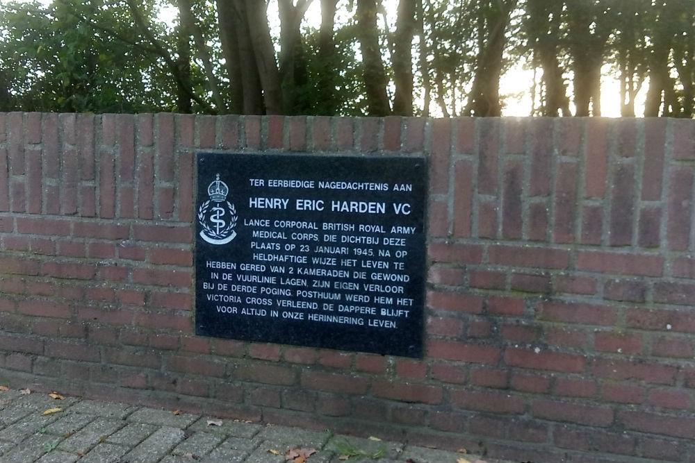 Memorial Henry Eric Harden Linne