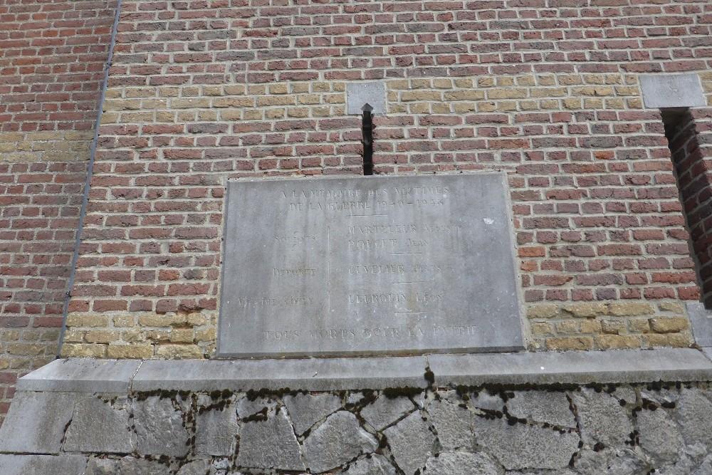 Commemorative Plaques Cul-des-Sarts