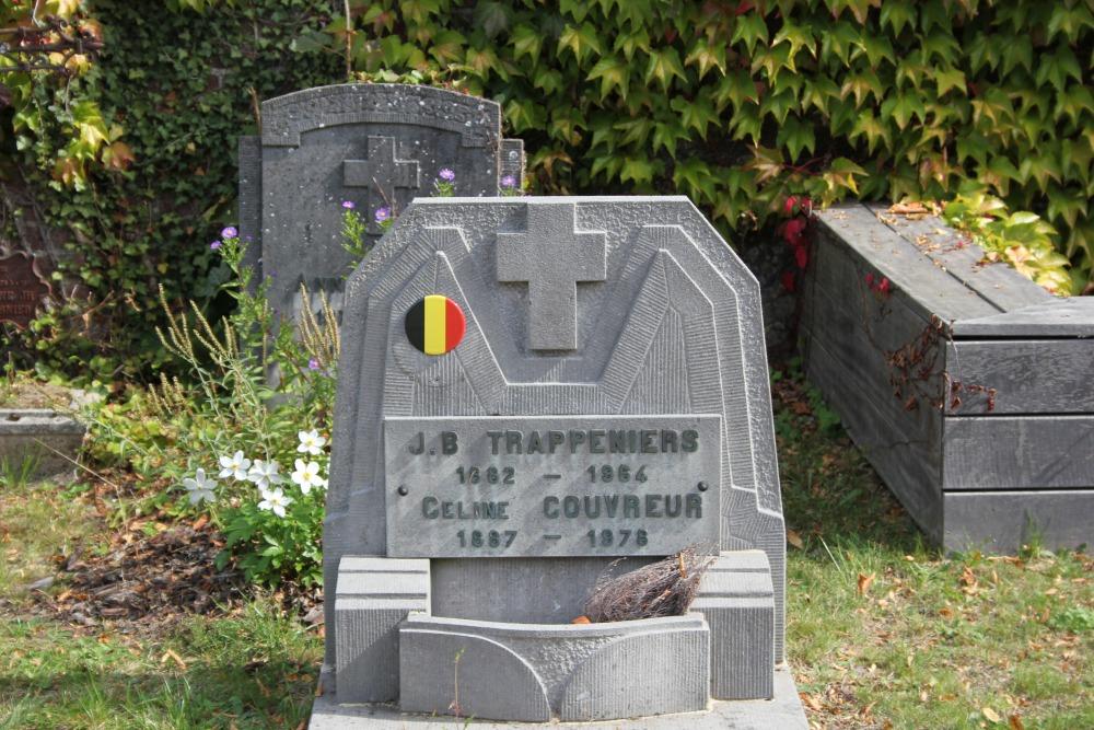 Graven Oudstrijders Chapelle-Saint-Lambert
