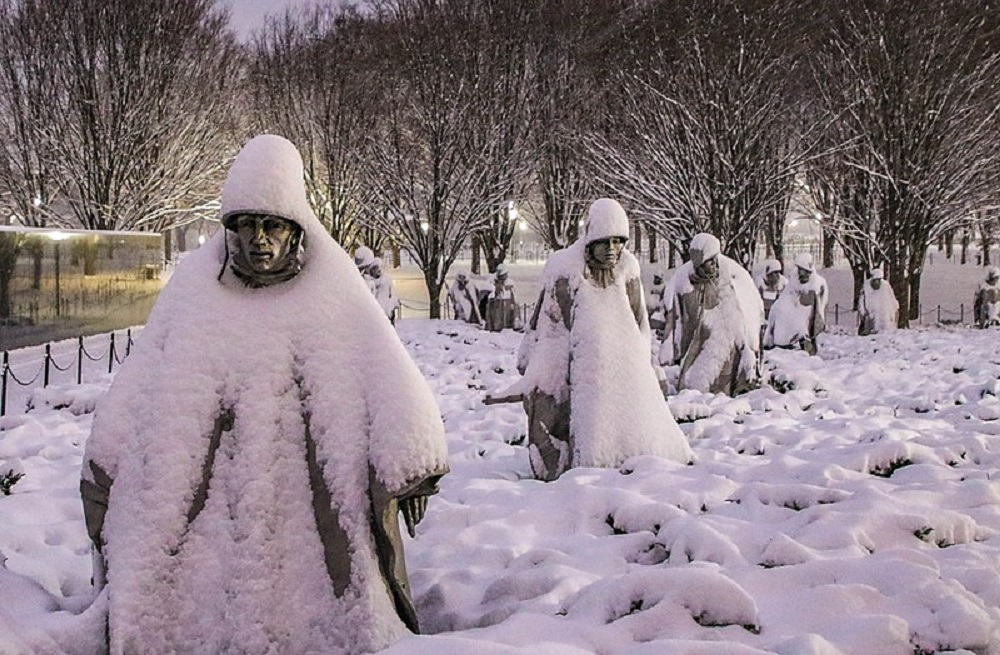 Korean War Veterans Memorial Washington