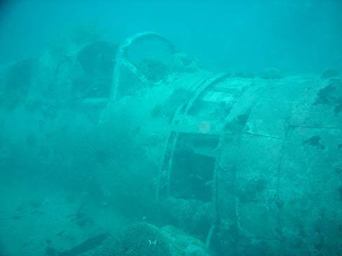 Wrak Aichi E13A1 Watervliegtuig Kavieng