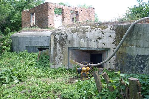 Stalinlinie - Artilleriekazemat Nr. 152