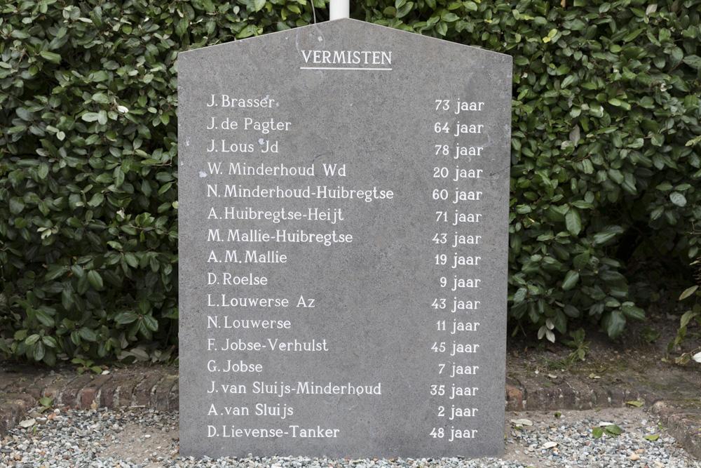 Monument Vermisten Westkapelle