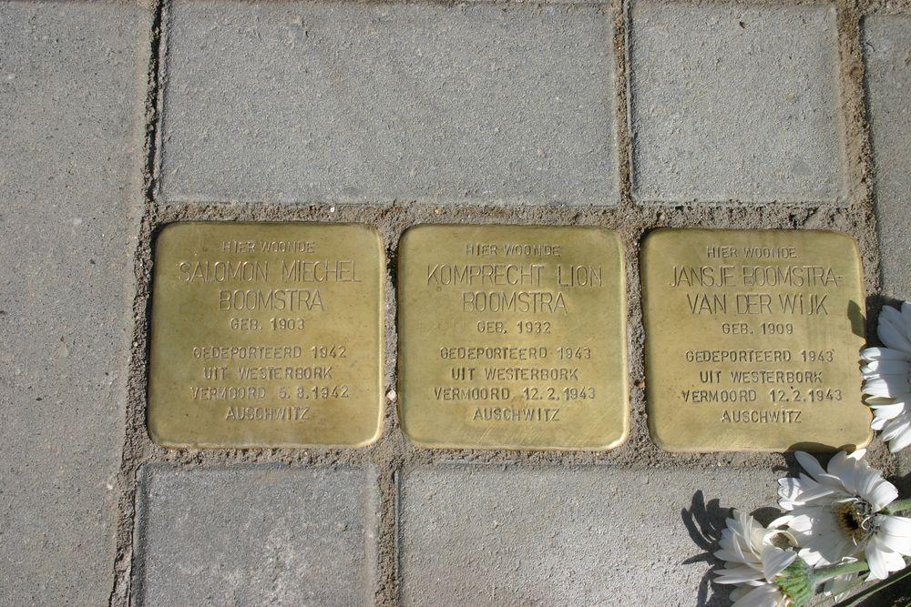 Stolpersteine Klaas Woltjerweg 9