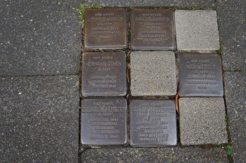 Stumbling Stones Ludgerusstraße 4