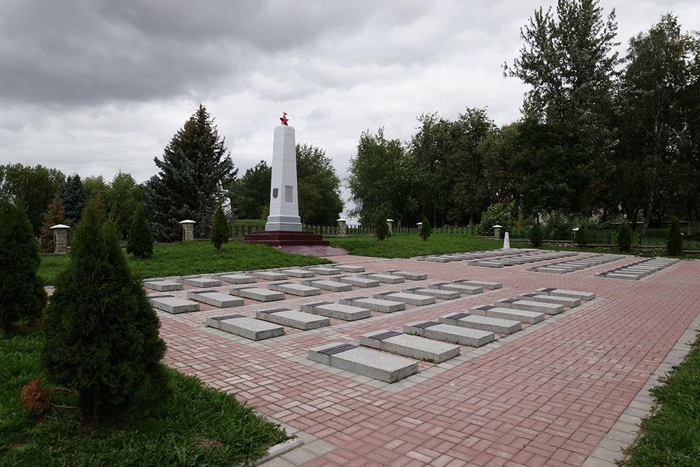 Soviet War Cemetery Karelichy