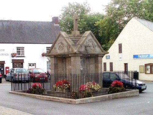 War Memorial Magor, Llandaven, Undy, Bishton, Redwick, Llandevaud and St Brides