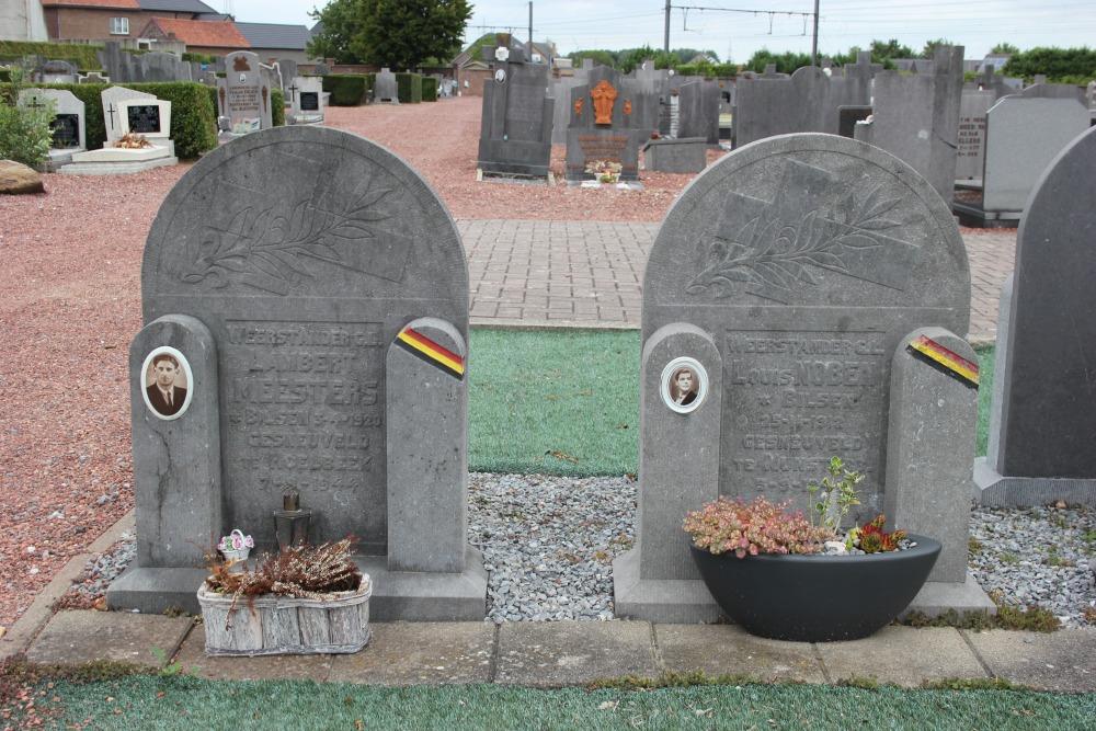 Graven Omgekomen Verzetsstrijders