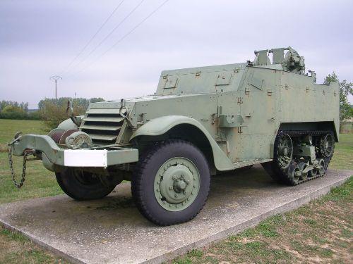 American M16 Half Track - Francaltroff - TracesOfWar com