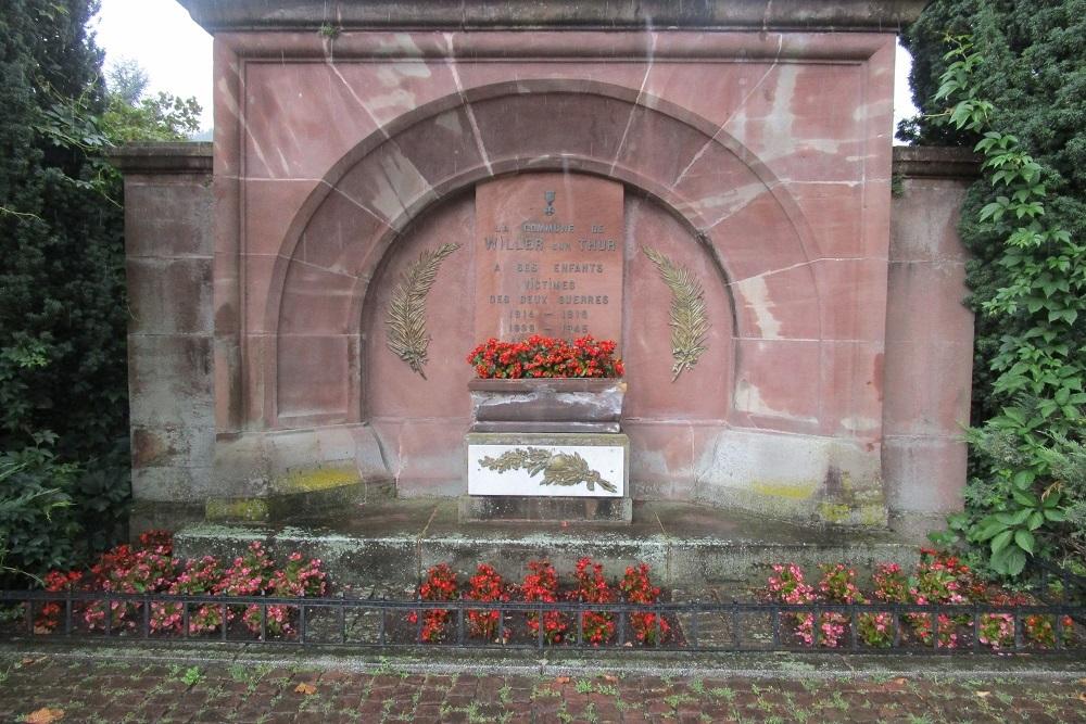 War Memorial Willer-sur-Thur
