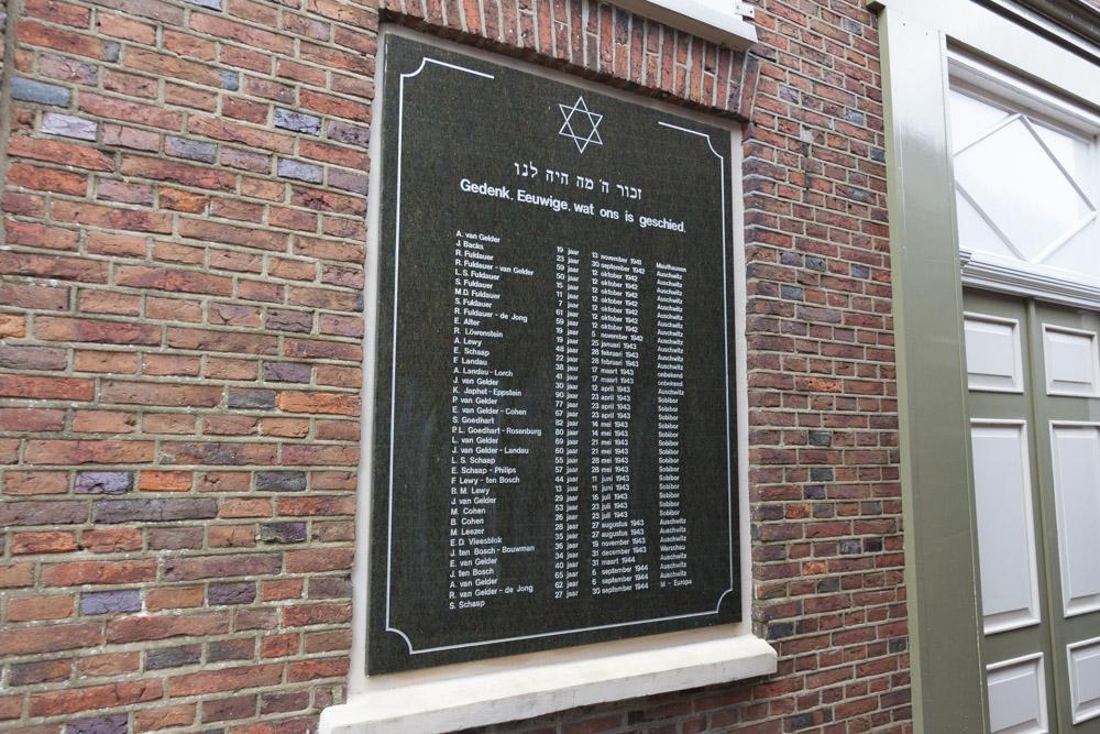 Jewish Plaque Synagogue Aalten
