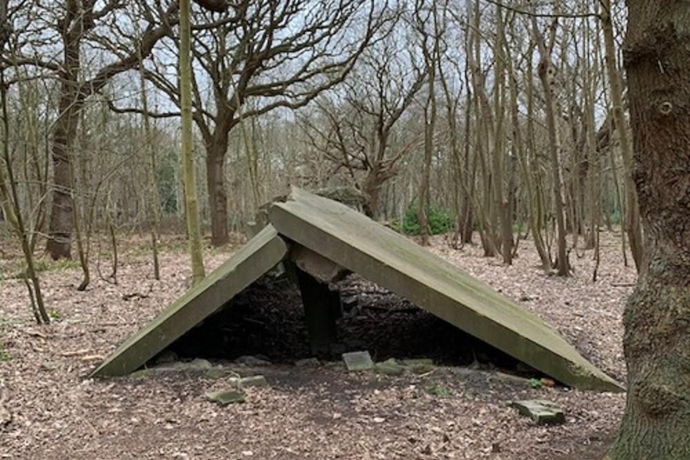VF bunker of garage - Stützpunkt Hamster