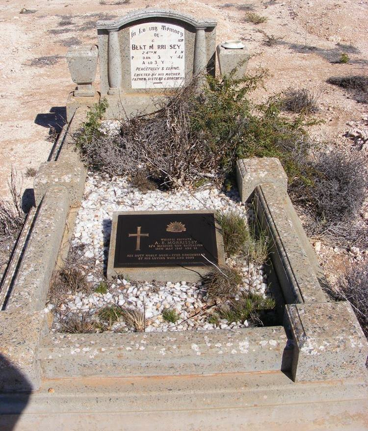 Commonwealth War Grave Yalgoo Cemetery