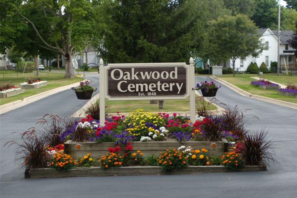 Amerikaans Oorlogsgraf Oakwood Cemetery