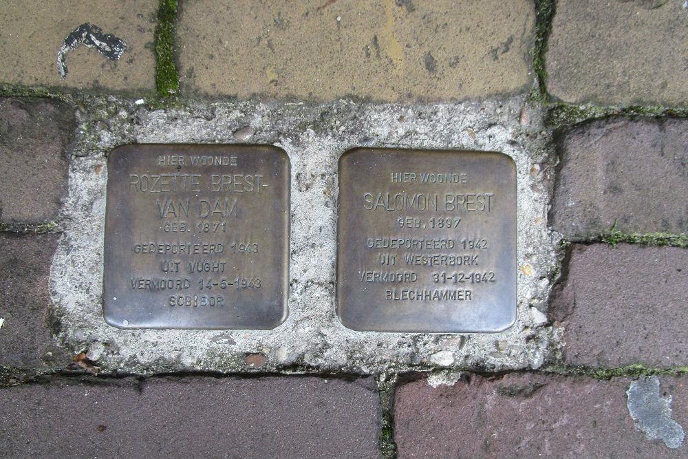 Stumbling Stones Stationsweg 28