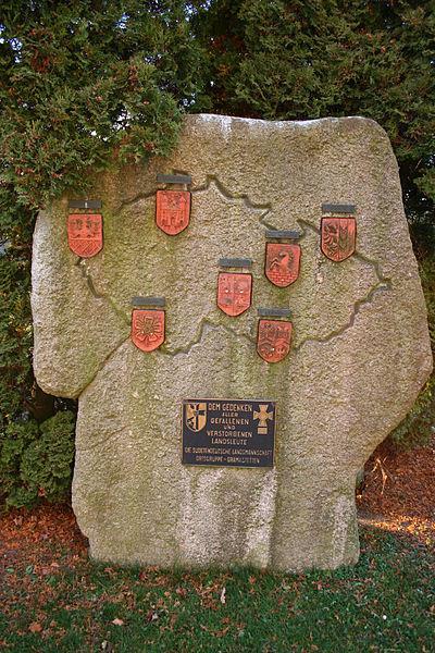 War Memorial Sudetendeutsche Landsmannschaft