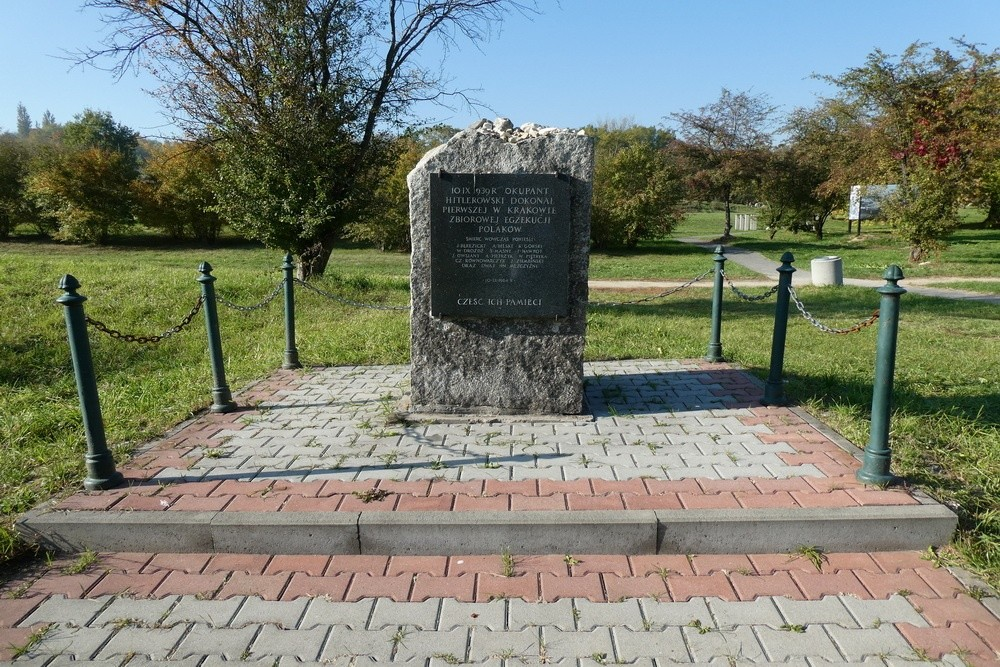 Execution Memorial Płaszów (Cracow)