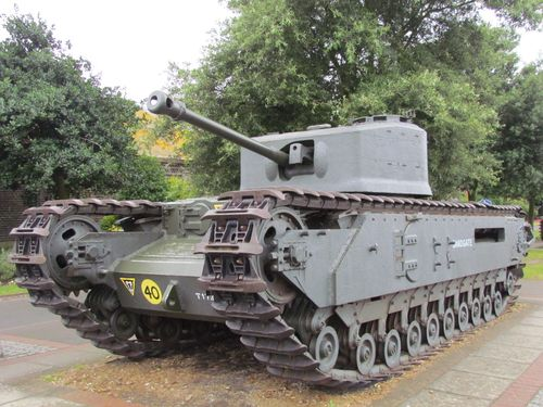 Churchill Mark VII Crocodile Tank Portsmouth