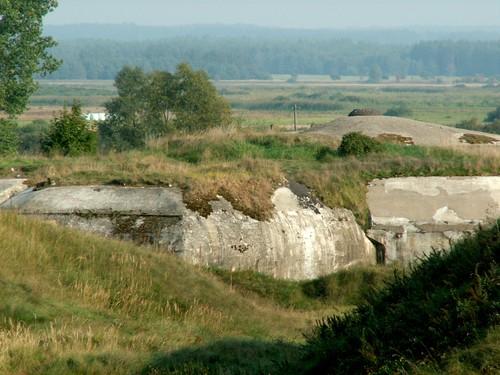 Vesting Osowiec - Fort II (Zarzeczny)
