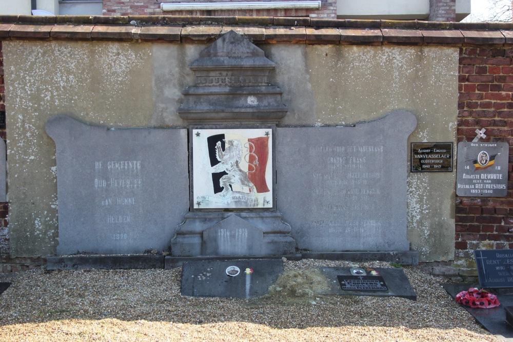 Oorlogsmonument Begraafplaats Oud-Heverlee