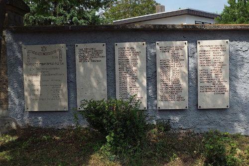 Oorlogsmonument Joodse Begraafplaats Oberdorf am Ipf
