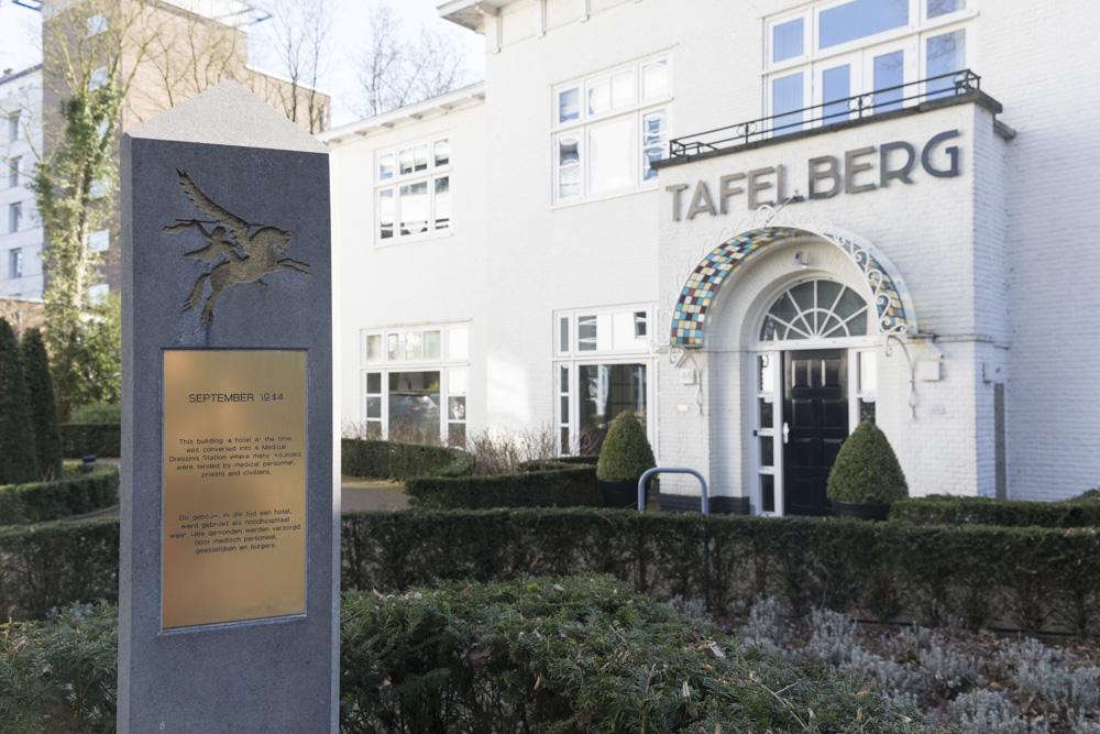 Battle Marker Hotel Tafelberg