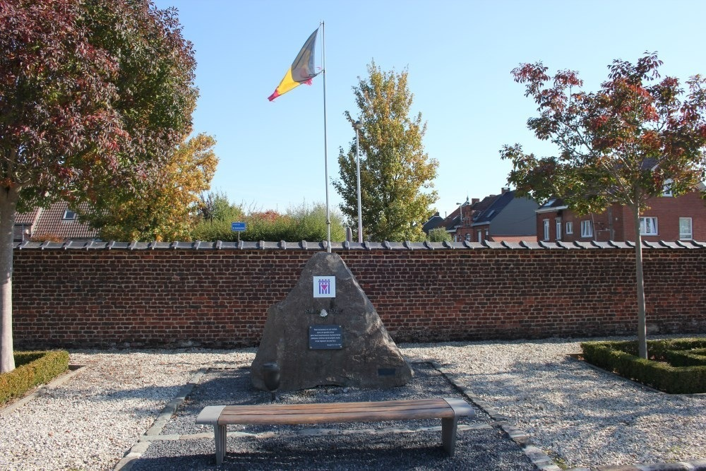 Oorlogsmonument Begraafplaats Braine-le-Comte