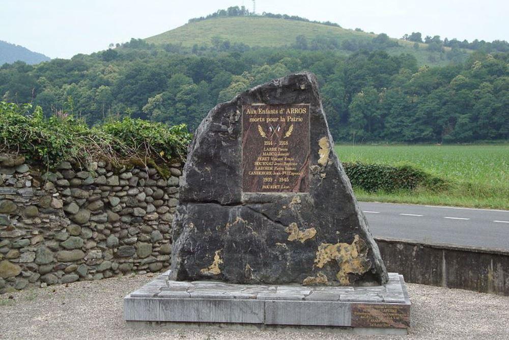War Memorial Arros-d'Oloron