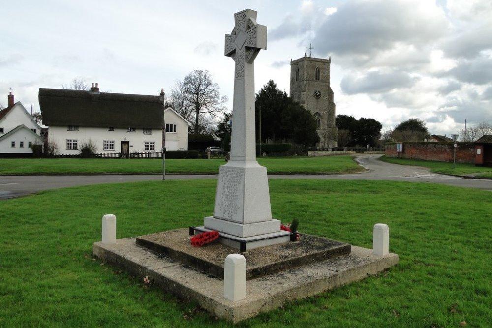 War Memorial Caston