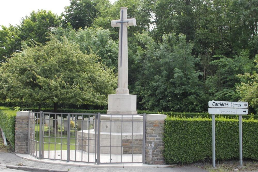 Oorlogsbegraafplaats van het Gemenebest Gaurain-Ramecroix