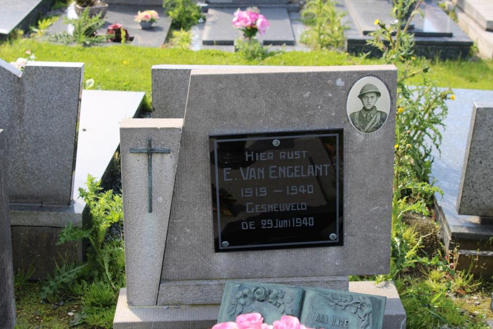 Belgian War Graves Grimbergen Lint
