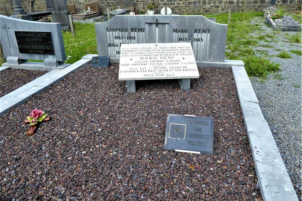 Grave Political Prisoner Baronville