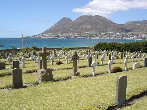 Commonwealth War Graves Simon's Town Cemetery