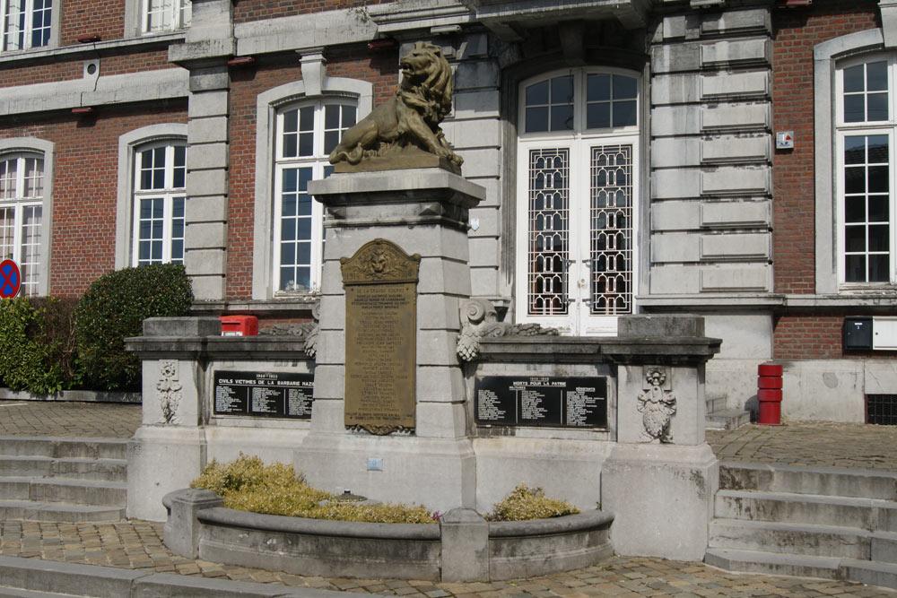 Oorlogsmonument Montegnée