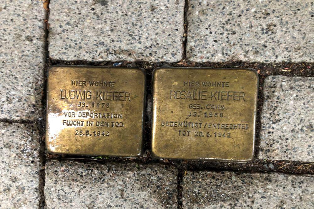 Stumbling Stones Wielandstraße 10