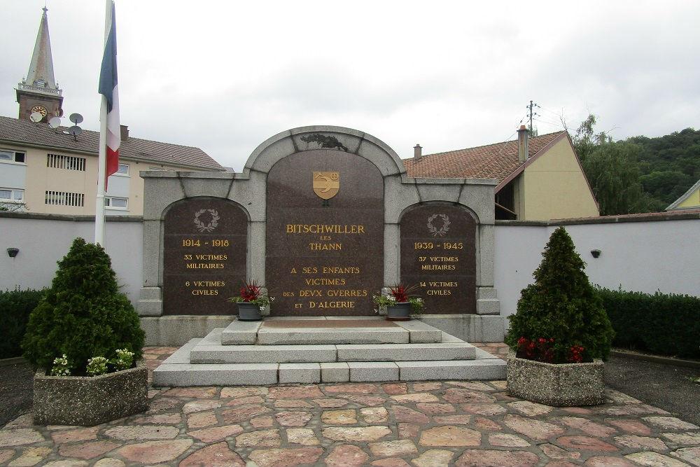 War Memorial Bitschwiller-lès-Thann