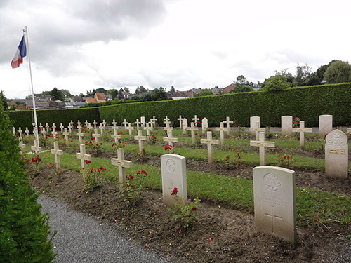Franse & Britse Oorlogsgraven Fourmies