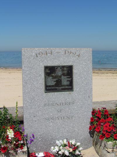Monument Fort Garry Horse Regiment Bernières-sur-Mer