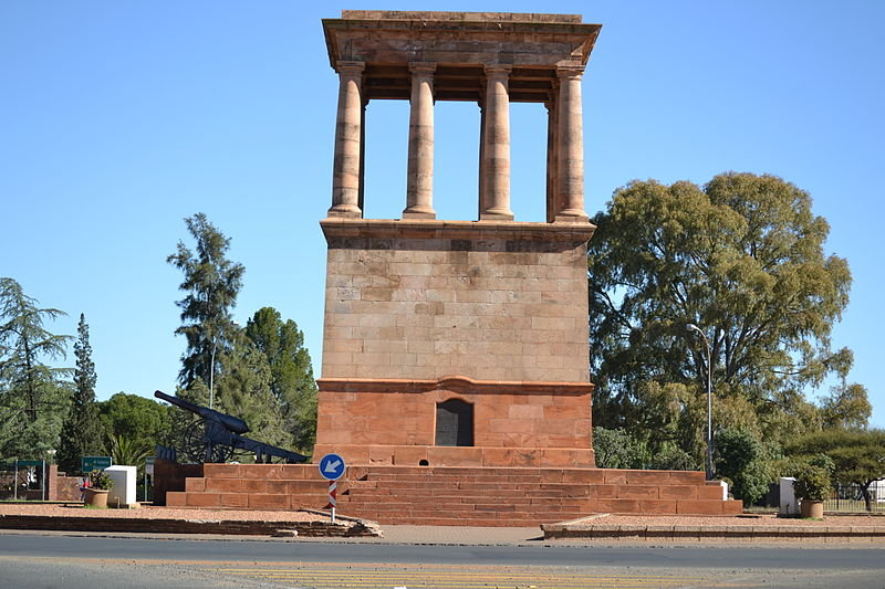 British Memorial Siege of Kimberley