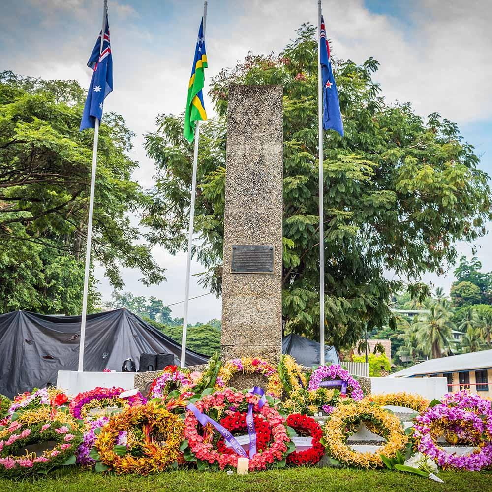 Allied War Memorial Honiara