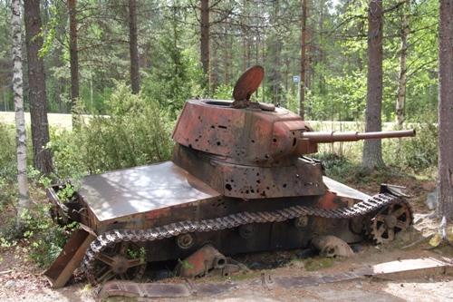Russische T-26 Tank