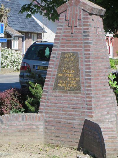 Memorial Willem Heber and Mathieu Rutten