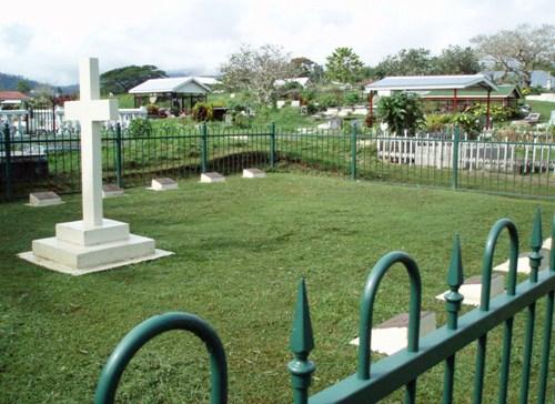 Oorlogsgraven van het Gemenebest Apia