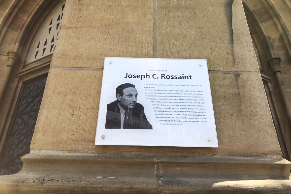 Memorial Chaplain Rossaint