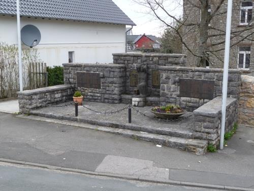 War Memorial Sistig